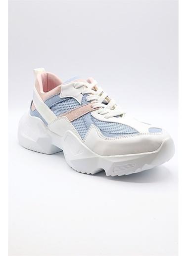 La scada Pıerre Cardın Pc-30132 Beyaz Kadın Spor Ayakkabı Beyaz